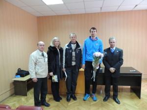Зустріч з Б. Бондаренко